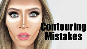 Contouring mistakes