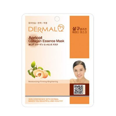 apricot 400x400 - Dermal Apricot Collagen Essence Mask