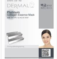platinum 196x200 - Dermal Platinum Collagen Essence Mask