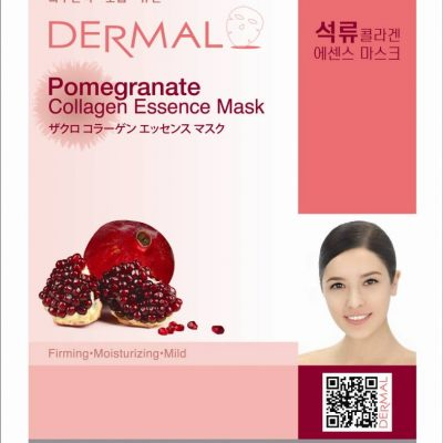 pomegranate 400x400 - Dermal Pomegranate Collagen Essence Mask