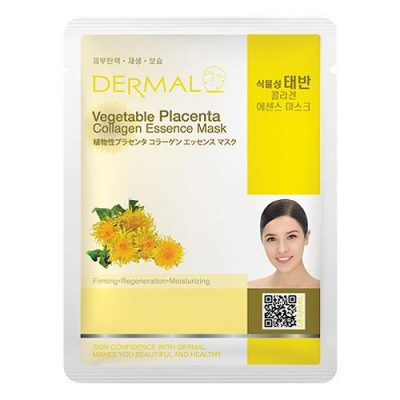 vegetable placenta 400x400 - Dermal Vegetable Placenta Collagen Essence Mask