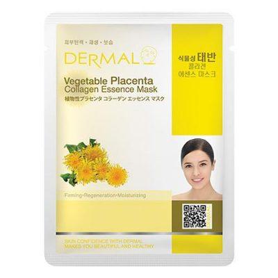 vegetable placenta 400x400 - Dermal Vegetable Placenta Collagen Essence Mask