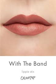 with the band - Colourpop Lippie Stix - With the Band