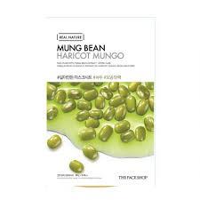 bean - Mung Bean Sheet Mask - The Face Shop