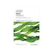 kelp - Kelp Sheet  Mask - The Face Shop