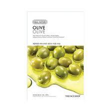 olive - Olive Sheet Mask - The Face Shop