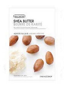 shea butter - Shea Butter Sheet Mask - The Face Shop