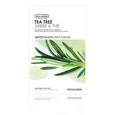 tea tree 400x400 - Tea Tree Mask - The Face Shop
