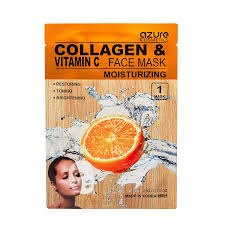 vitamin C mask - Azure Collagen & Vitamin C Face Mask