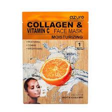 vitamin C mask - Azure Collagen & Vitamin C Face Mask