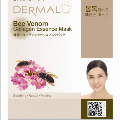 dermal bee venom 400x400 - Dermal Collagen Essence Mask - Bee Venom