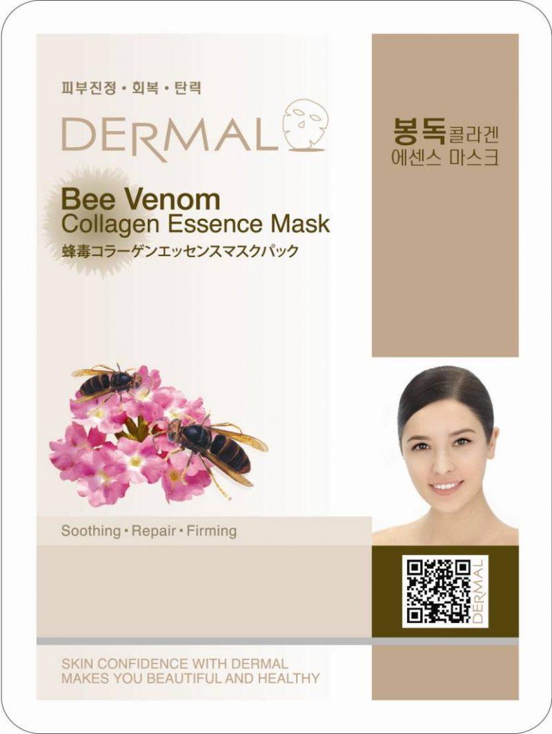 dermal bee venom 800x1063 - Dermal Collagen Essence Mask - Bee Venom