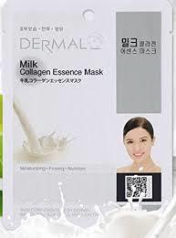 milk - Dermal Collagen Essence Sheet Mask - Cucumber