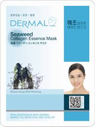 seaweed - Dermal Collagen Essence Mask - Seaweed