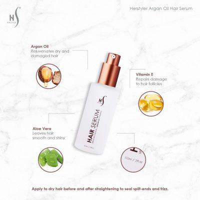 61qD8avH25L. SL1200  400x400 - Herstyler Dry Hair Argan Oil Anti-Frizz Serum For Natural Shine