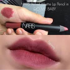 do me baby1 - Nars Velvet Matte Lip Pencil Mini - Do me baby