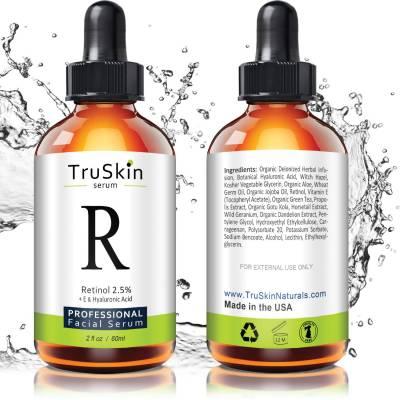 retinolserum 400x400 - TruSkin Retinol Serum for Wrinkles & Fine Lines