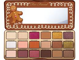 gingerbread - Too Faced Gingerbread Eye Shadow Palette Spice