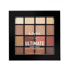 warm - Nyx Ultimate Eyeshadow Palette - Warm Neutrals