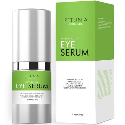 Petunia 400x400 - Petunia Skincare - Eye Serum With HA, Amino Acids & Peptide Blend