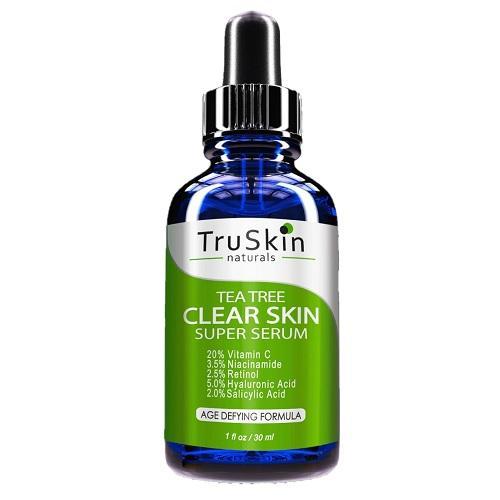 TruSkin Tea Tree Clear Skin Serum Vitamin C Salicylic Acid & Retinol best price in Pakistan