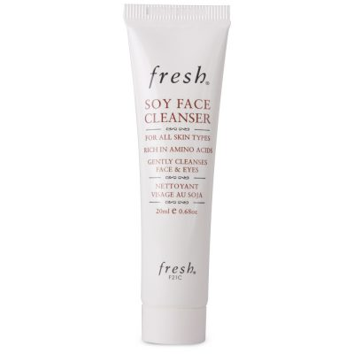 f139630e15c47c7aa021ae77fa8b21a9 400x400 - Fresh Soy Face Cleanser - Travel Size 20 ml