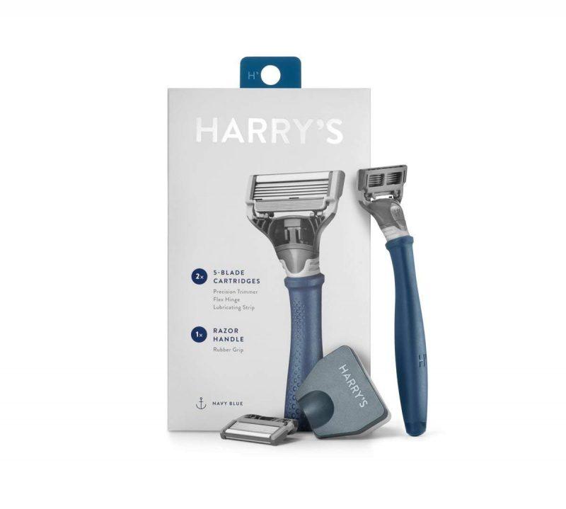 51vadIIk4nL 800x719 - Harry's Razor 2X (5-blade Cartridges) - Navy Blue