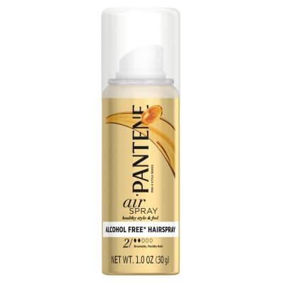 Pantene hair spray