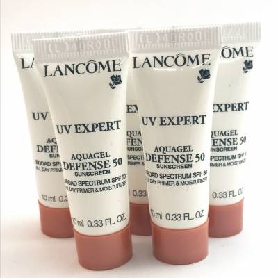 Lancome sunscreen UV expert 10ml 400x400 - Lancome Sunscreen - UV  Expert Aquagel Defense SPF 50 (10ml)