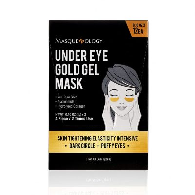 Masqueology Gold Under Eye Gel Mask