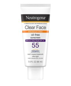 Neutrogena Breakout free oil-free sunscreen SPF 55