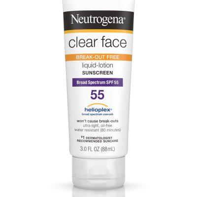 acne sunscreen