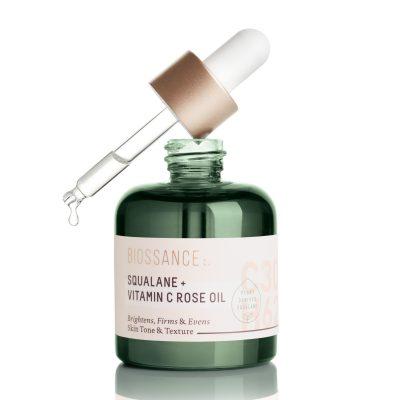 biossance squalane vitamin c rose oil 400x400 - Biossance Squalene And Vitamin C Rose Oil Trial Size