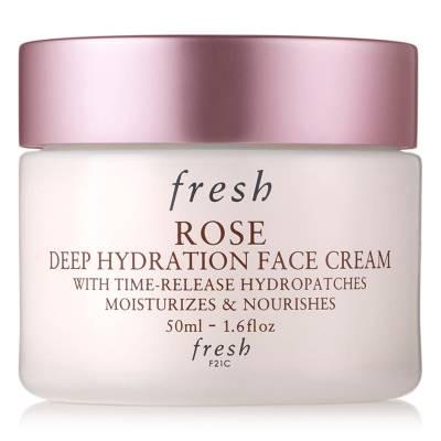 cream 400x400 - Fresh Rose Deep Hydration Face Cream Trial Size