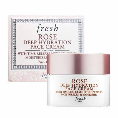 cream1 400x400 - Fresh Rose Deep Hydration Face Cream Trial Size 7ml