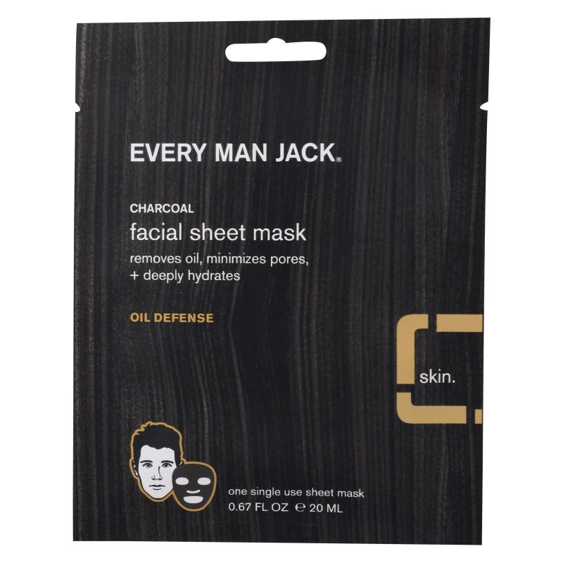 every 800x800 - Every Man Jack Charcoal Facial Sheet Mask