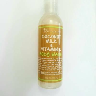 renpure body wash coconut milk vit e 100ml 400x400 - Renpure Body Wash - Coconut Milk and Vitamin E  (100ml)