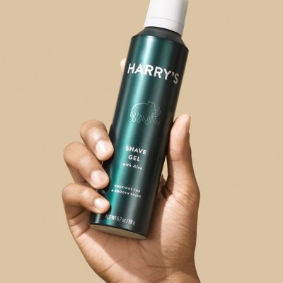 shave gel 400x400 - Harry's Shave Gel With Aloe