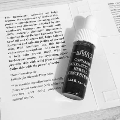 4ml 400x400 - Kiehl's Cannabis Sativa Seed Oil Herbal Trial Size