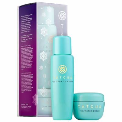 Tatcha Pore Perfecting Moisturiser Cleanser Duo 400x400 - Tatcha Deep Cleanse Set