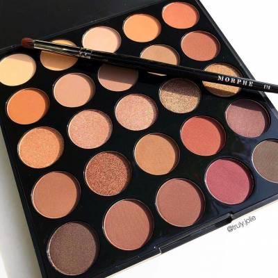 25B1 400x400 - Morphe 25B Bronzed Mocha Eye Shadow Palette