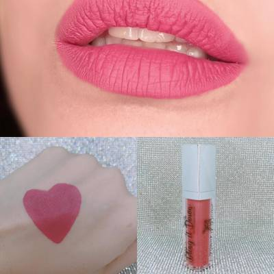 Nadia Hussain NHBLing matte lipstick Yum