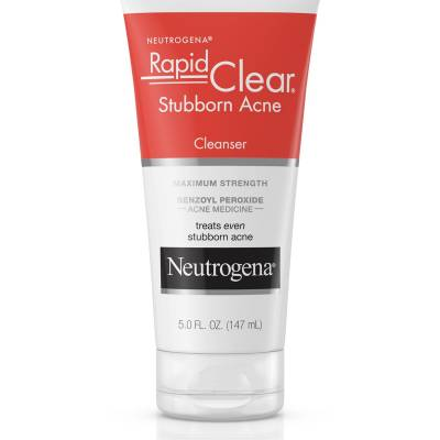 acnecleanser 400x400 - Neutrogena Rapid Clear Subborn Acne Cleanser