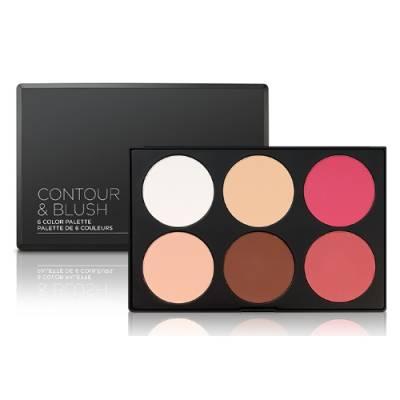 bh 400x400 - BH Cosmetics Contour & Blush 6 Color Palette