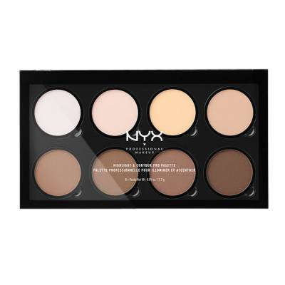 nyx 400x400 - NYX Highlighter & Contour Pro Palette