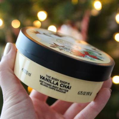 sneeuw9 400x400 - The Body Shop Softening Body Butter - Vanilla Chai