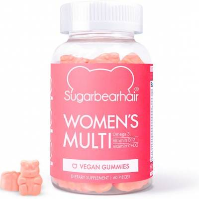 sugar 400x400 - Sugar Bear Hair  Women 's Multi Vegan Gummies
