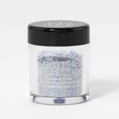 bh cosmetics glitter silver 400x400 - BH Cosmetics Glitter loose 0.28 oz- Silver