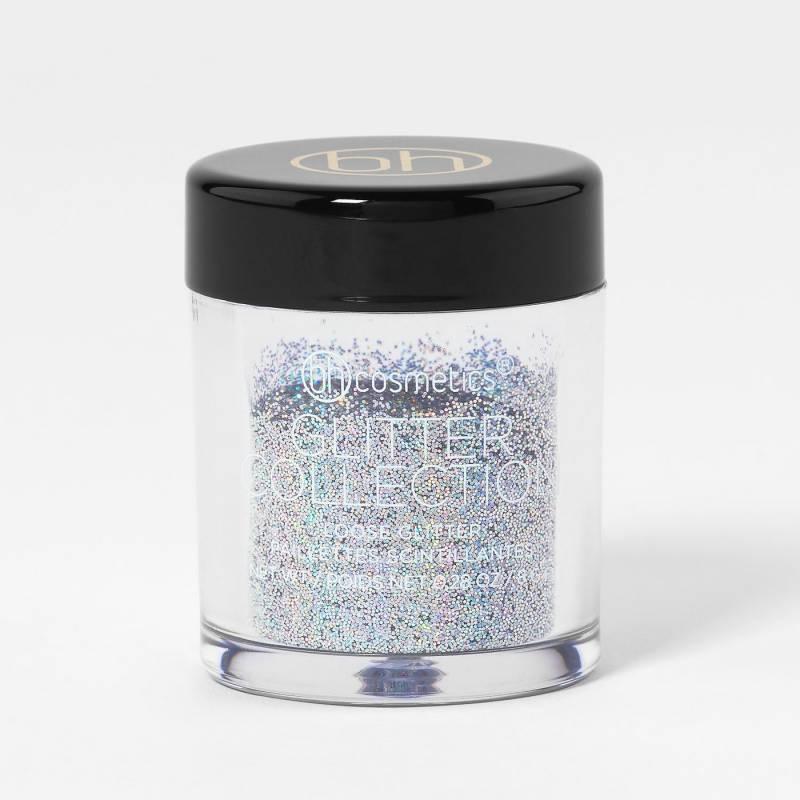 bh cosmetics glitter silver 800x800 - BH Cosmetics Glitter loose 0.28 oz- Silver