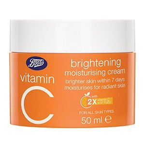 boots vitamin c brightening moisturising cream 300 - Boots Vitamin Brighening Sleeping Mask 18 ML